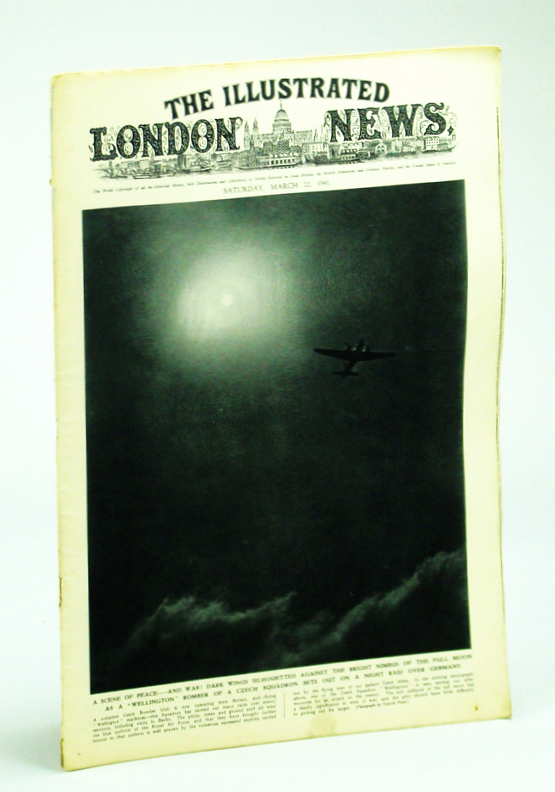 Image for The Illustrated London News, Saturday, March [Mar.] 22, 1941 -  Keren, Core of Weakening Italian Resistance in Eritrea