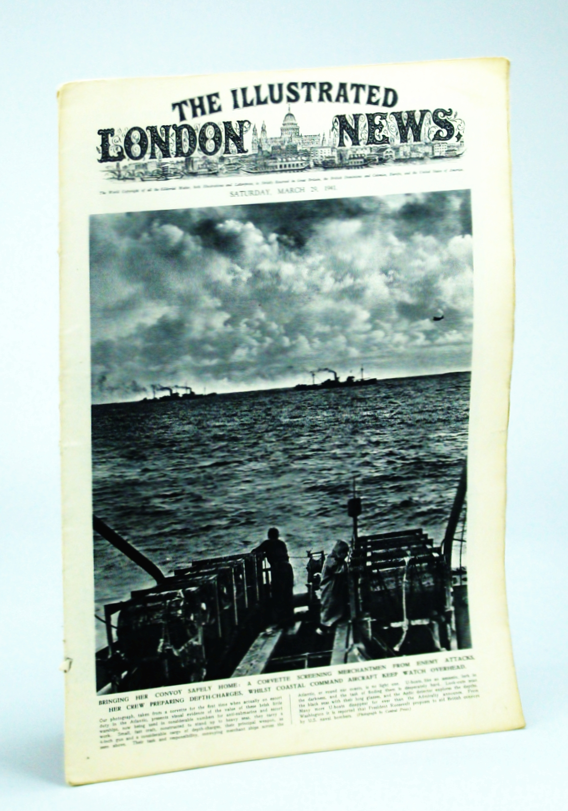 Image for The Illustrated London News, Saturday, March [Mar.] 29, 1941 -  The Blitz Returns to London