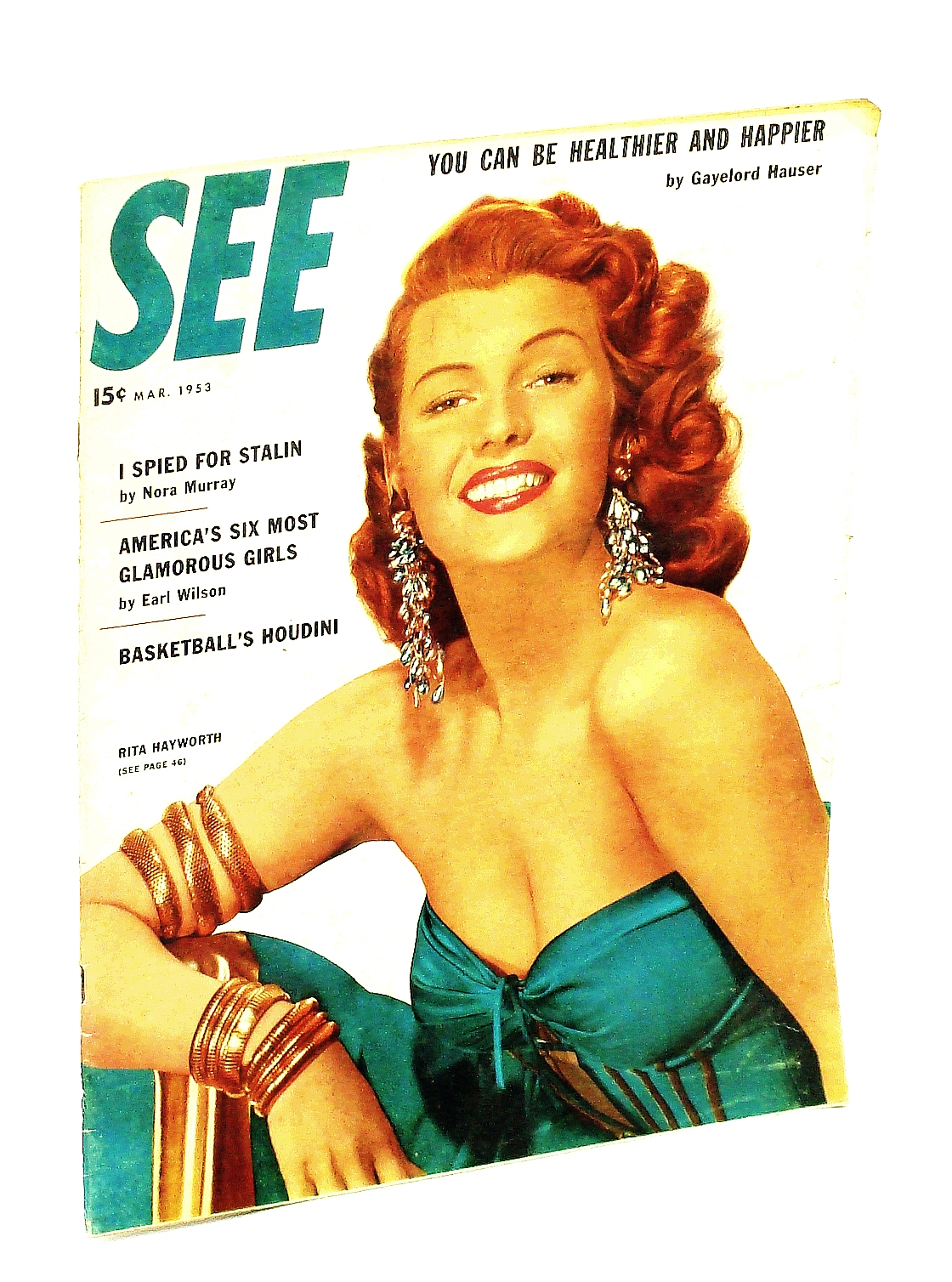 Image for See [Magazine] March [Mar.] 1953, Vol. 12, No. 2 - Rita Hayworth Cover