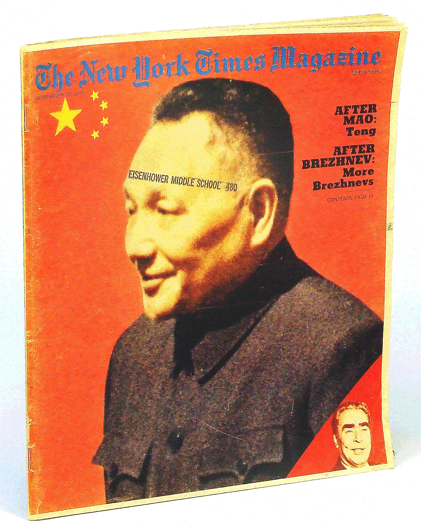 Image for The New York Times Magazine, November [Nov.] 30, 1975: Deng Xiaoping [Teng Hsiao-ping] Cover Photo / Thomas Hoving of the Metropolitan Museum / Body Building