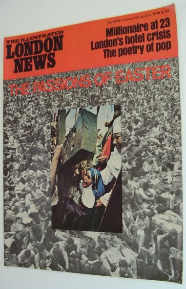 Image for The Illustrated London News Magazine - April 4, 1970 No 6818 Volume 256