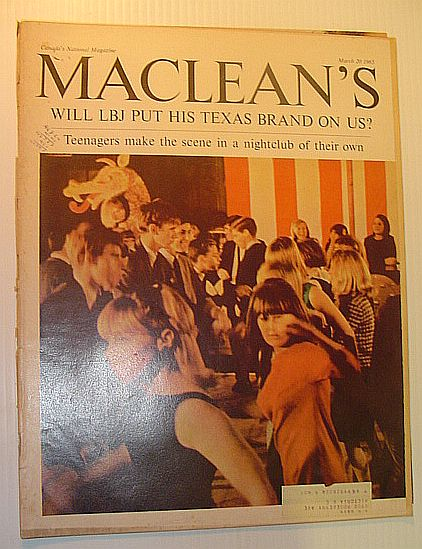 Image for Maclean's Magazine, 20 March 1965