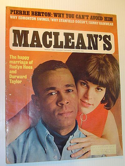 Image for Maclean's Magazine, March 1968