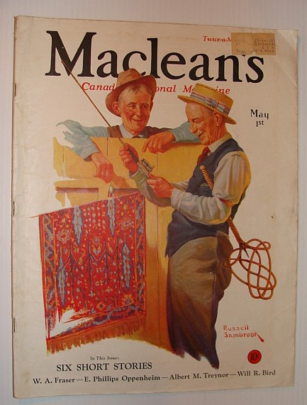 Image for Maclean's - Canada's National Magazine, May 1, 1933 *THE ORIENTAL THREAT*