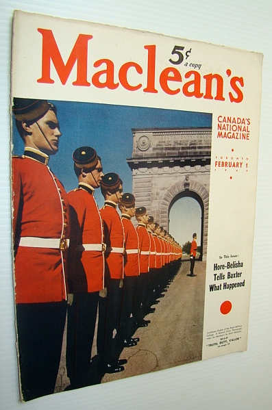 Image for Maclean's - Canada's National Magazine, 1 Febrary, 1940 - Is Syl Apps Hockey's Greatest?