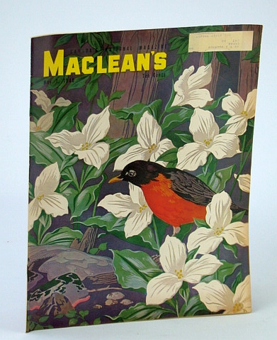 Image for Maclean's Magazine, May 1, 1948 - A.J. Casson Cover Art