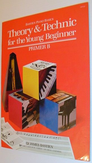 Image for WP233 - Theory and Technic for the Young Beginner - Primer B