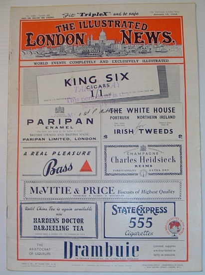 Image for The Illustrated London News - No 5569  Volume 208 January 12, 1946