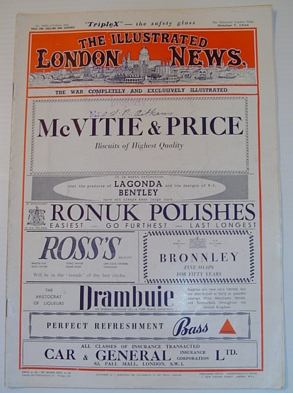 Image for The Illustrated London News, 7 October 1944