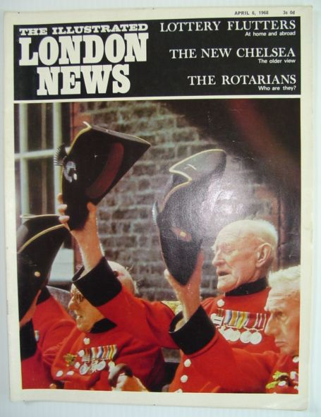 Image for The Illustrated London News - April 6, 1968