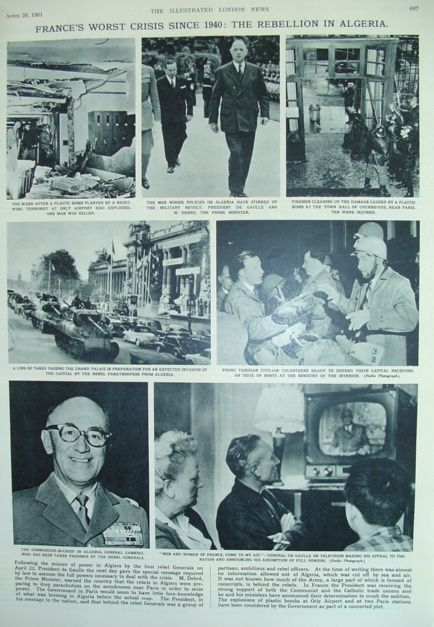 Image for The Illustrated London News - April 29, 1961