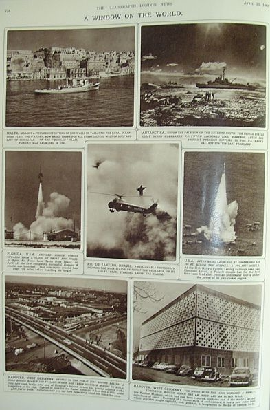 Image for The Illustrated London News - April 30, 1960