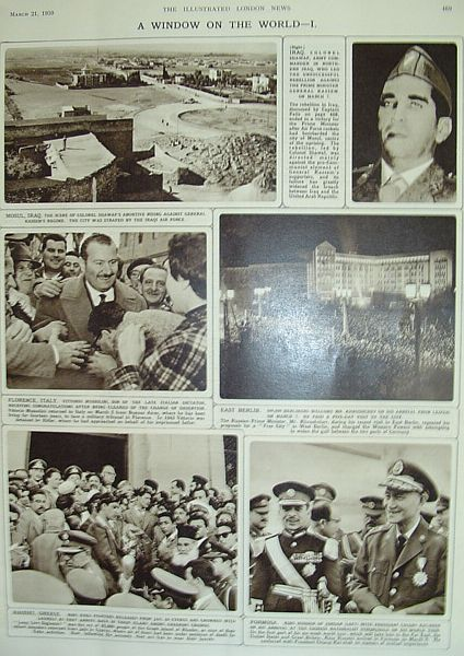 Image for The Illustrated London News - March 21, 1959
