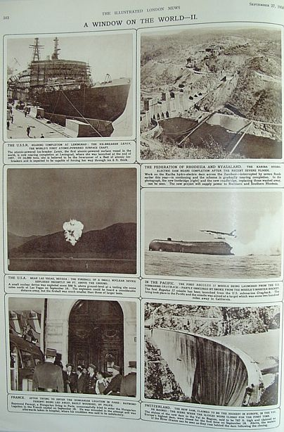 Image for The Illustrated London News: September 27, 1958