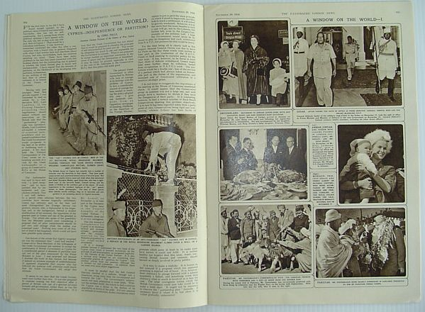 Image for The Illustrated London News - November 29, 1958