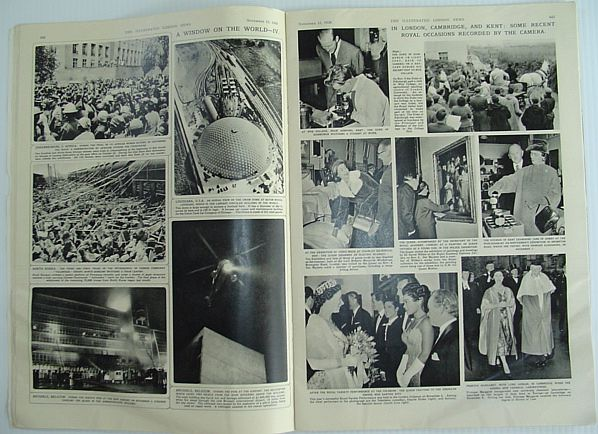Image for The Illustrated London News - November 15, 1958