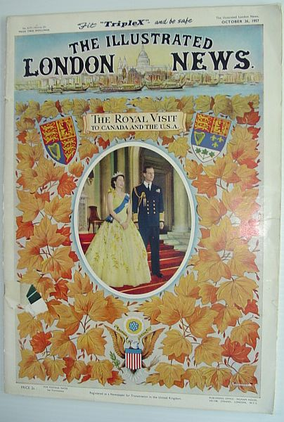 Image for The Illustrated London News - October 26, 1957