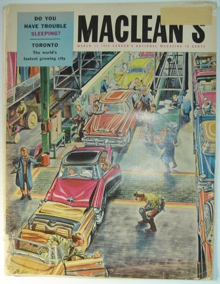 Image for Maclean's Magazine, March 17, 1956