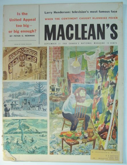 Image for Maclean's Magazine, September 27, 1958