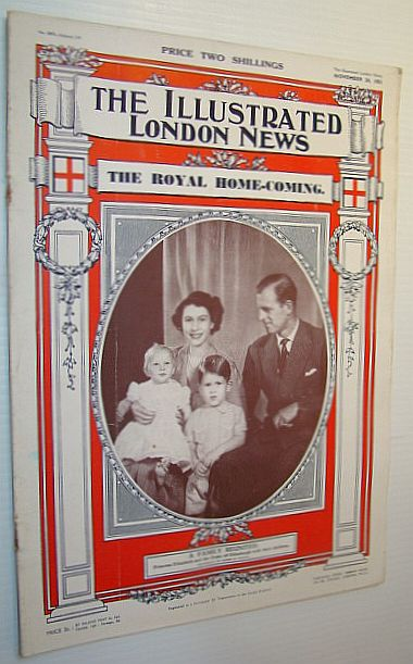 Image for The Illustrated London News, November 24, 1951 - Flood Havoc in Italy and Switzerland / Royal Homecoming - Princess Elizabeth and the Duke of Edinburgh Return From Canada