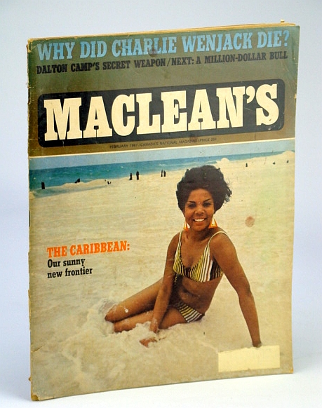 Image for Maclean's Magazine, February 1967 *WHY DID CHARLIE WENJACK DIE?*