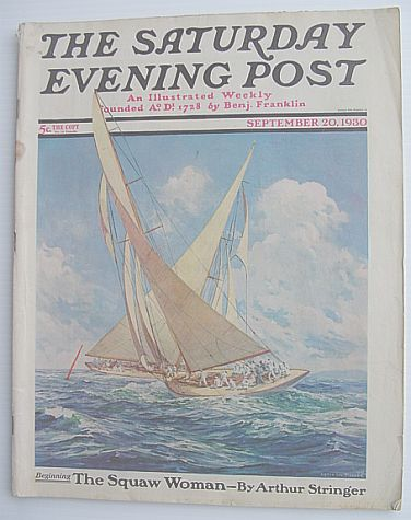 Image for The Saturday Evening Post Magazine: Volume 203 September 20, 1930 Number 12