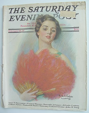 Image for The Saturday Evening Post Magazine: Volume 203 July 12, 1930 Number 2