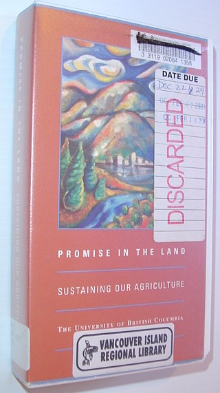 Image for Promise in the Land: Sustaining Our Agriculture - VHS Video Tape in Case