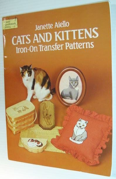 Image for Cats and Kittens Iron-On Transfer Patterns