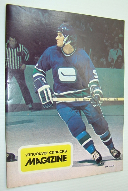 Image for Vancouver Canucks Magazine, January 12, 1974 - Colour Cover Photo of Don Lever
