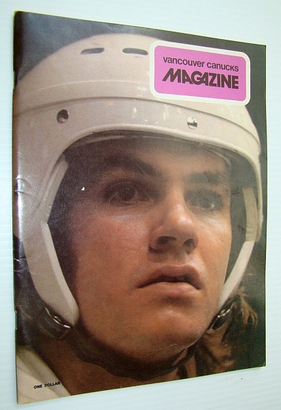 Image for Vancouver Canucks Magazine, February 15, 1974 - Colour Cover Photo of Don Lever
