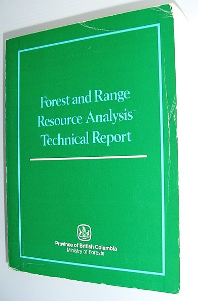 Image for Forest and range resource analysis technical report