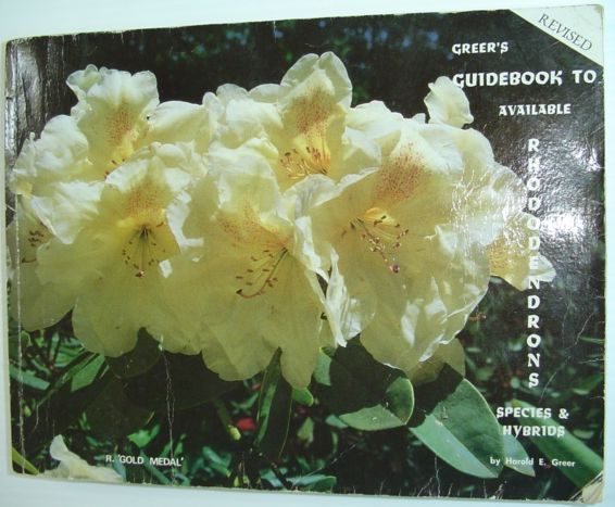 Image for Greer's guidebook to available rhododendrons: Species & hybrids