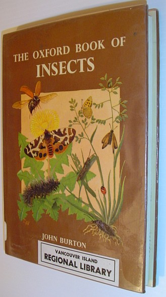 Image for The Oxford Book of Insects