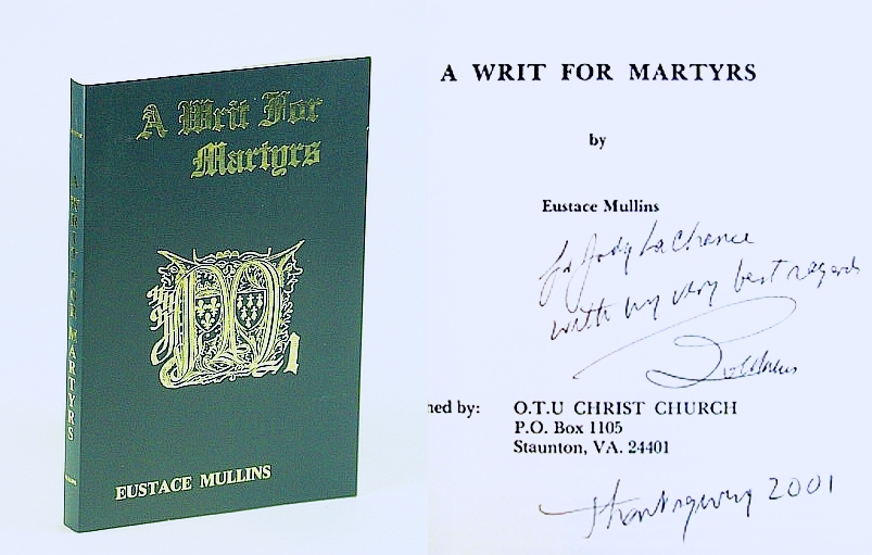 Image for A Writ for Martyrs