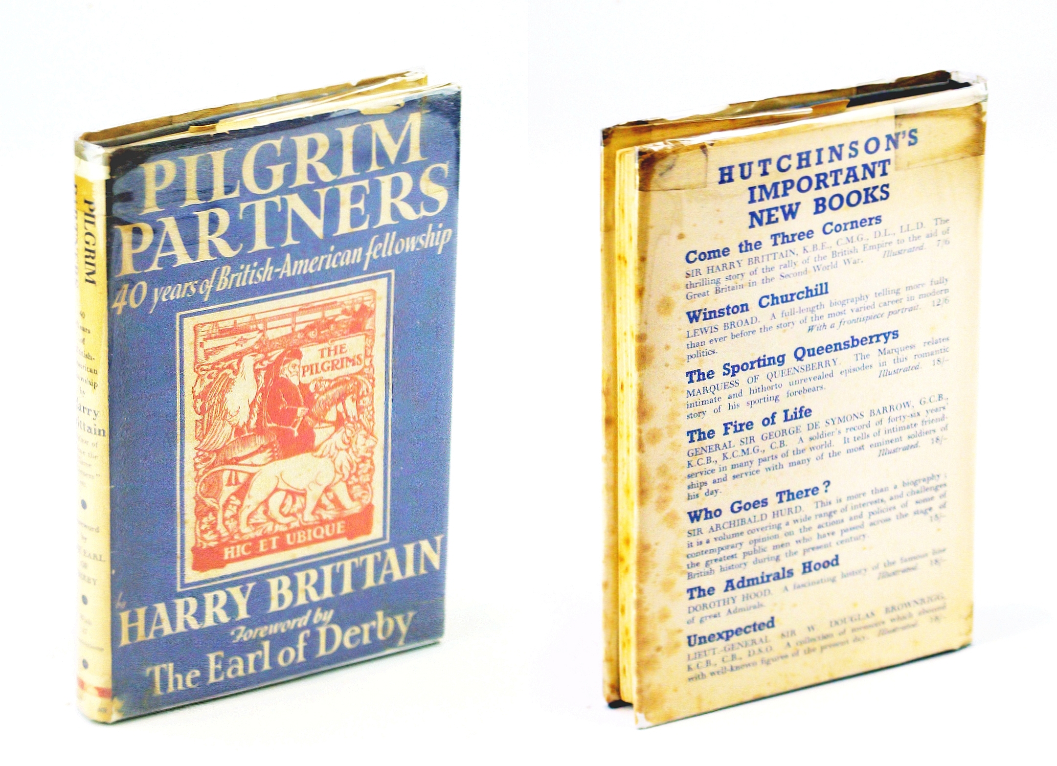 Image for Pilgrim Partners; Forty Years of British-American Fellowship