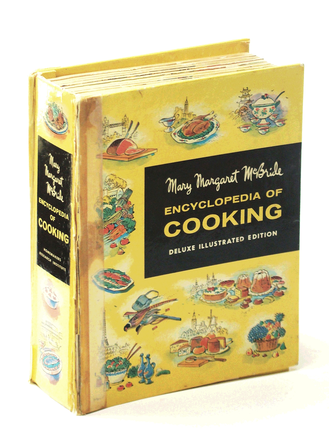 Image for Mary Margaret McBride - Encyclopedia of Cooking - Deluxe Illustrated Edition - Complete 12 Section Set