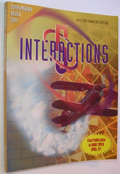 Image for Interactions 5 - Western Canadian Edition