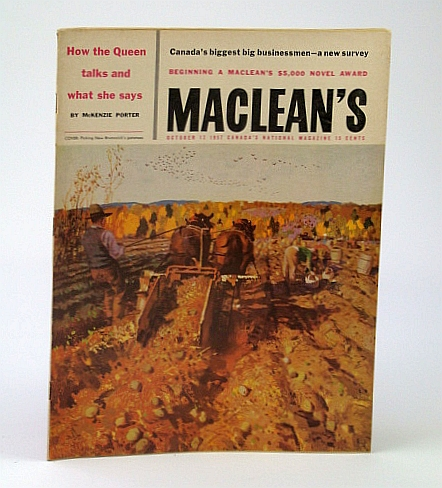Image for Maclean's - Canada's National Magazine, October (Oct.) 12, 1957 - Canada's Biggest Big Businessmen