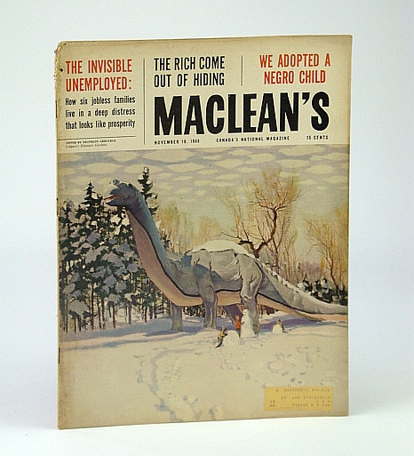 Image for Maclean's - Canada's National Magazine, November (Nov.) 19, 1960 - We Adoped a Negro / John Fienberg