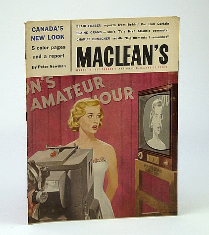 Image for Maclean's - Canada's National Magazine, March (Mar.) 16, 1957 - The Conacher Story (Part 3) / Elaine Grand