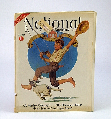 Image for National Home Monthly Magazine, June 1936 - Scotland Yard vs. Crime / Golf Duds and Stars / The Debt Dilemma