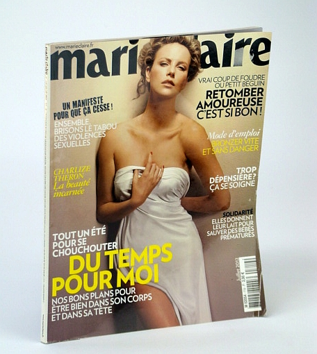 Image for Marie Claire Magazine, Juillet 2012, No. 719 - Charlize Theron Cover Photo