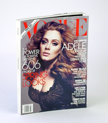 Image for Vogue (US) March 2012 - Adele Cover Photo