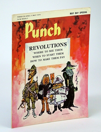 Image for Punch Magazine - May Day Special - 29 April - 5 May 1970: Revolutions Cover Illustration