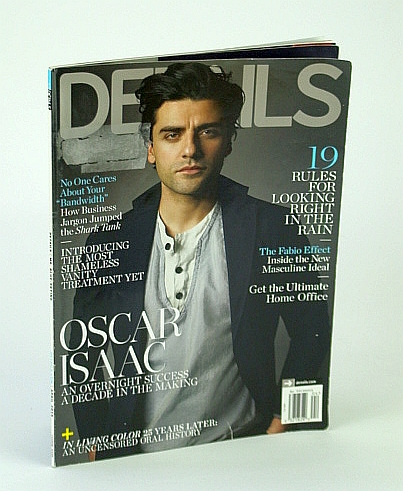 Image for Details Magazine, April (Apr.) 2015 - Oscar Isaac Cover Photo