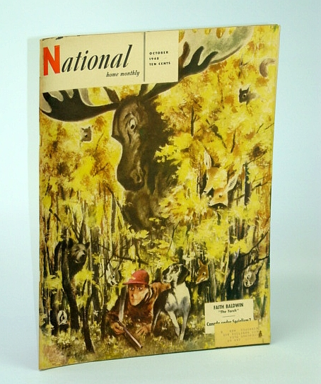 Image for The National Home Monthly Magazine, October (Oct.) 1948 - Canada Under Socialism? / M.J. Coldwell