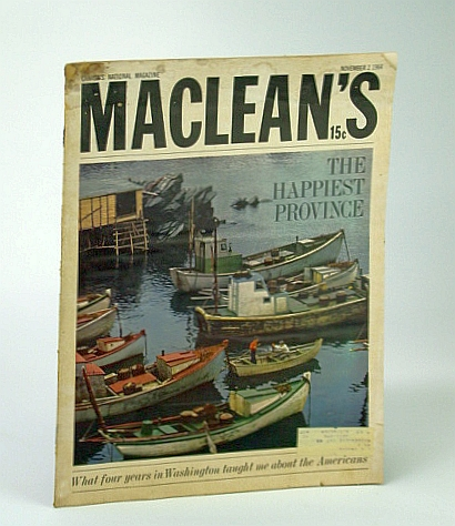 Image for Maclean's - Canada's National Magazine, November (Nov.) 2, 1964
