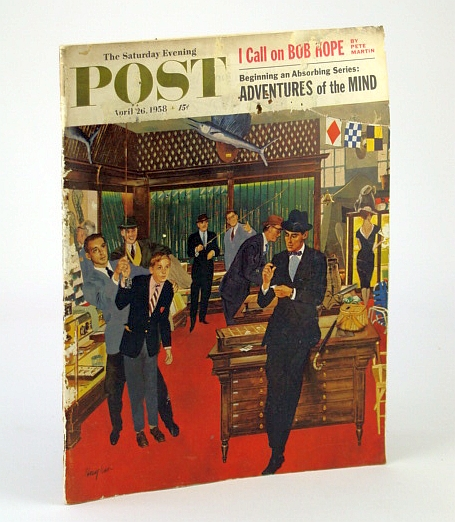 Image for The Saturday Evening Post Magazine, April 26, 1958: Polish Americans / We Jail Drunken Drivers