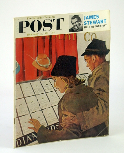 Image for The Saturday Evening Post Magazine, February (Feb.) 11, 1961: James (Jimmy) / Clifford Case / Terre Haute, Indiana